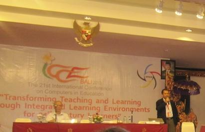 Presentasi E-learning di ICCE 2013