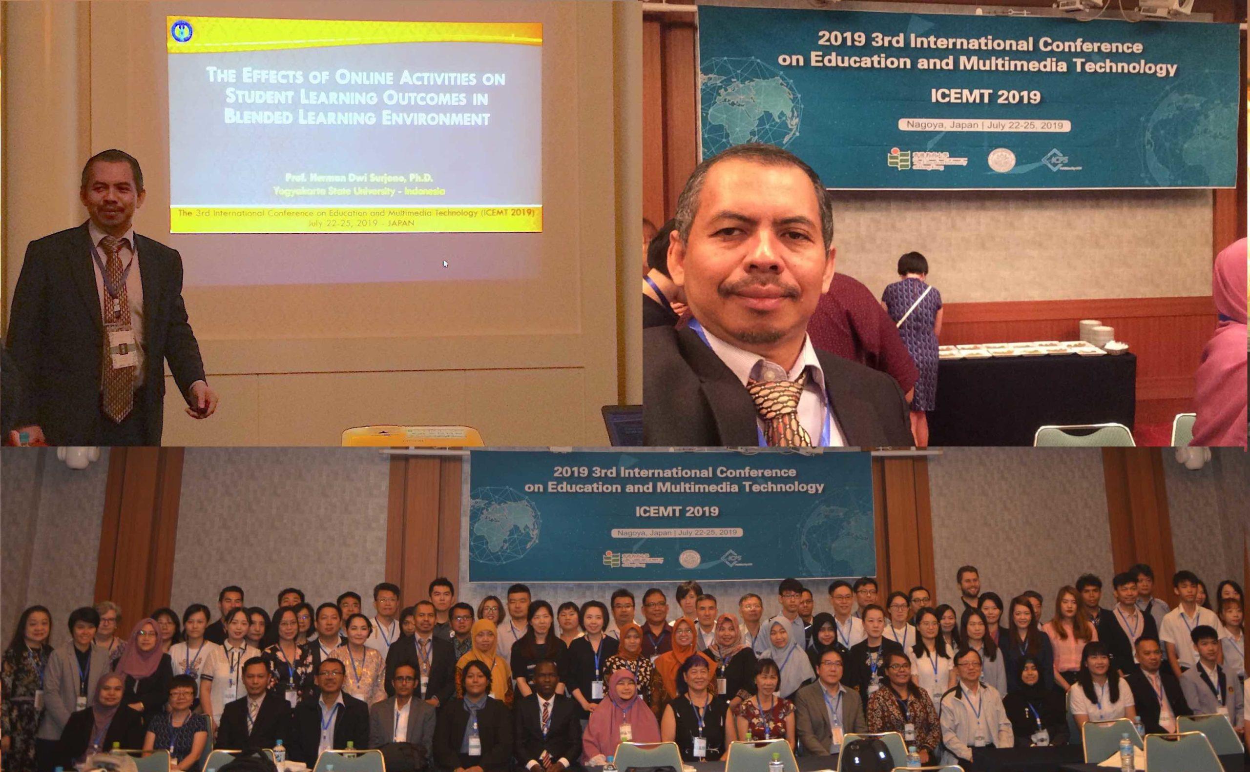 Presentasi Penelitian Blended Learning di Jepang